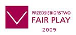 Certyfikat Przedsiębiorstwo FAIR PLAY 2009